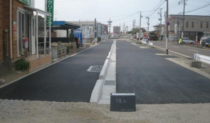 3・4・157亀田中央線道路改良工事