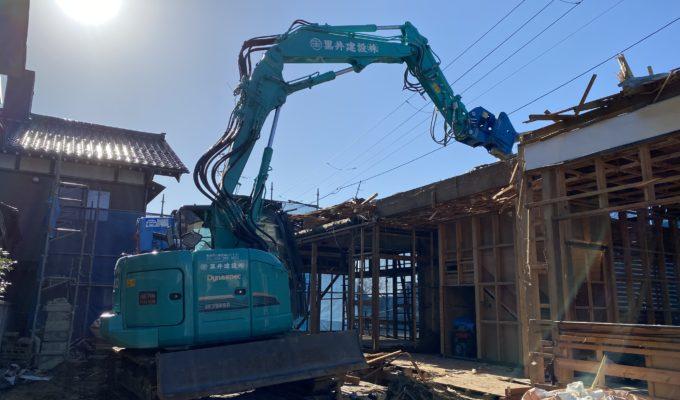 新潟市西区 解体工事